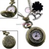 Retiazkový náhrdelník s hodinkovým príveskom